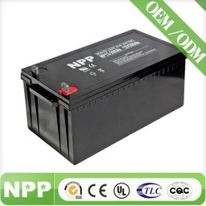 Good Quality Rechargeable Solar Battery for Solar Panel (12V200AH)