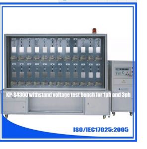Kp-4300 Three Phase Withstand Voltage Test Bench pictures & photos