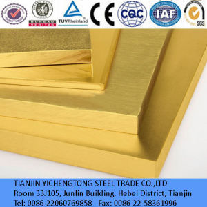 C26800 H65 Price for Brass Plate Sheet pictures & photos