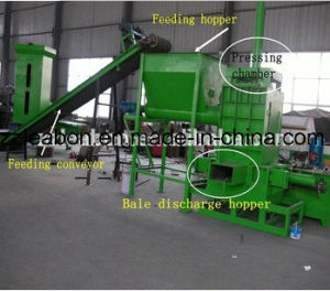 CE Approved Sawdust Bagging Baler for Sale pictures & photos