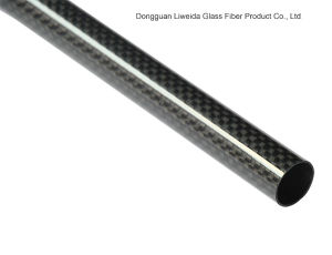 Fatigue Resistance 3k Roll-Wrapped Carbon Fiber Tube/Pole pictures & photos