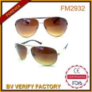 Brown Lens Cockpit Pilot Metal Sunglasses China OEM Supplier pictures & photos