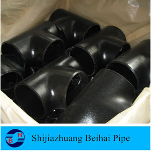ASME B16.9 A234 Wpb Carbon Steel Pipe Fitting Reducing Tee pictures & photos