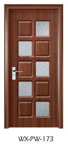 Trustworthy PVC Door (WX-PW-173) pictures & photos