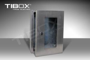 Plexiglass Single Door IP67 Aluminum Waterproof Enclosure pictures & photos