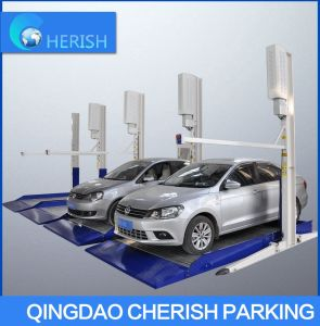 SUV Hydraulic Two 2 Post Car Auto Parking Lift for Garage Equipment pictures & photos