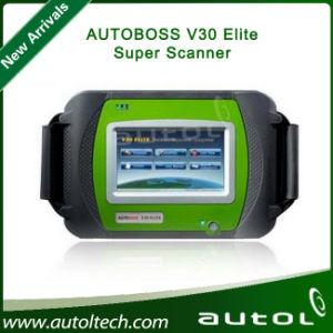 2015 New Arrival 100% Genuine Spx Autoboss Elite Super Scanner Support Multi-Brand Vehicles Autoboss V30 Elite pictures & photos
