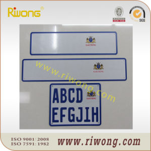 Car Number Plate for South Africa pictures & photos