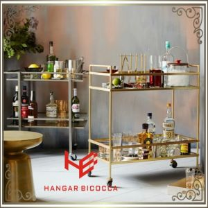 Liquor Trolley (RS150504) Cart Trolley Stainless Steel Furniture pictures & photos