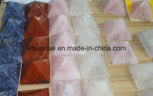 Semi Precious Stone Crystal Pyramid pictures & photos