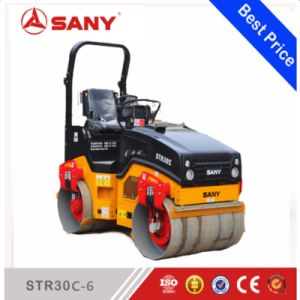Sany Str30c-6 Str Series 3 Ton Double Drum Vibratory Small Tandem Roller Road Roller for Sale pictures & photos