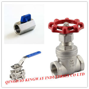 2-PC Full Bore Ball Valve with Mounting Pad, 1000wog pictures & photos
