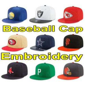 3D Embroidery Baseball Cap 49ers Raiders Steelers Adjustable Hat La Pirates P Giants Seattle Scarf and Cap Rangers T Red Black White Orange Navy Blue Green B a