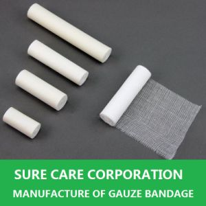 Absorbent Cotton Gauze Bandage for Medical Use pictures & photos