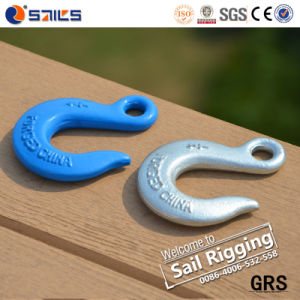 Carbon Steel Drop Forged Rigging Eye Slip Hook pictures & photos