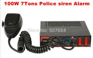 100W Police Car Siren Alarm 7tone