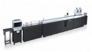 HY608 Automatic Hardcover Line with Inner Paper Pasting Machine