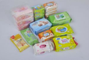 Cheap Baby Wet Wipe with Plastic Lid