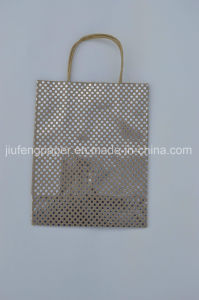 Hot Sale 125g Kraft Hot Foil Paper Bag pictures & photos