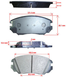 KIA Ceramic OEM Brake Pad