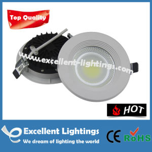 85-265V Broad Voltage Environmental Friendly LED Downlight 10W