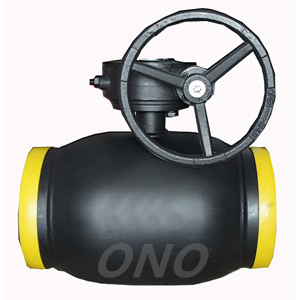 Worm Geared or Manual Integral Full Welded Ball Valve pictures & photos
