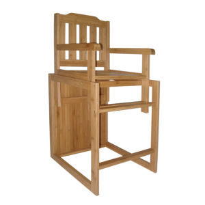 Bamboo Baby Kids Children Dining Chair (EB-91353) pictures & photos