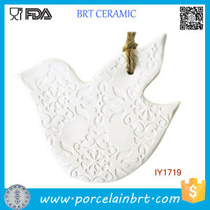 Ceramic White Pigeon Christmas Tree Decoration Christmas Ornament pictures & photos