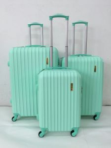 ABS Trolley Case Travel Luggage Zippercase pictures & photos