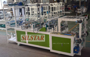 Gbds-500 Double Lines Star Seal Rolling Flat Bag Making Machine pictures & photos