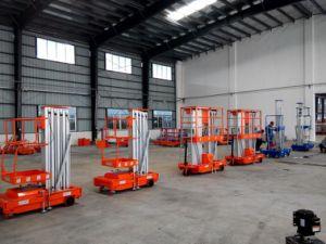 250kg Lift 12meters Aluminium Lifting Platform pictures & photos