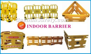 Road Traffic Safety Barrier, Hot Sale Safety Plastic Traffic Roadway Barrier pictures & photos