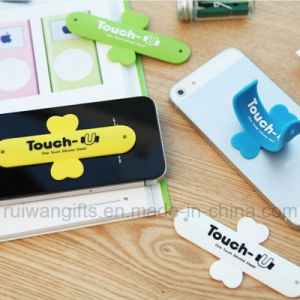 Silicone Mobile Stand for iPhone Holder (MPS011) pictures & photos