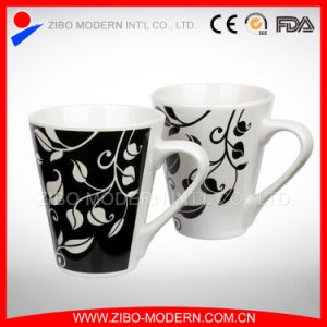 Wholesale White Ceramic Coffee Mug Cup in Decal Imprint pictures & photos