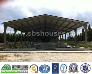 Movable Prefabricated Steel Frame Workshop pictures & photos