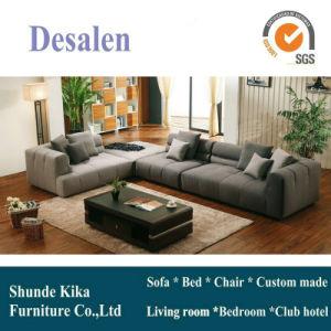 Fashion Design Modern L Shape Arab Fabric Sofa, Home Furniture (8079) pictures & photos