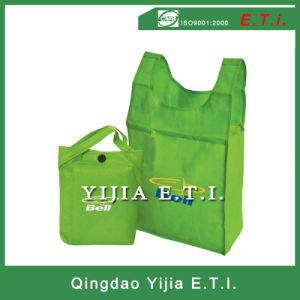 Folding Non Woven Bag in a Pouch pictures & photos
