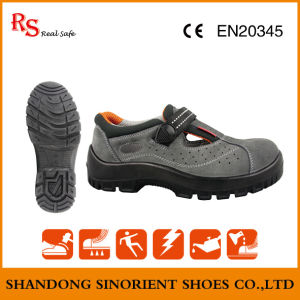 Plastic Toe Cap Women Safety Shoes for Summer Sns739 pictures & photos