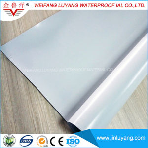PVC Waterproof Roofing Membrane for Low Pitched Roof