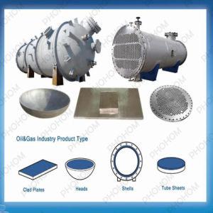 C70600 Copper Nickel Alloy Cladding Steel Anti-Corrosion Bimetallic Tubesheets pictures & photos
