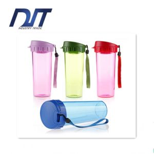380ml Portable Plastic Cup Customized Logo Leakproof Movement pictures & photos