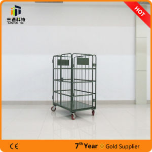 4 Side Roll Container Logistic Cart pictures & photos