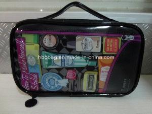 Clear PVC Zipper Cosmetic Bag