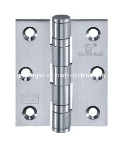SUS304 Satin Finish Casting Hinge for Wooden Door (30325-2BB) pictures & photos