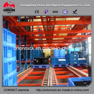 Warehouse Storage Gravity Self Slide Shelves pictures & photos