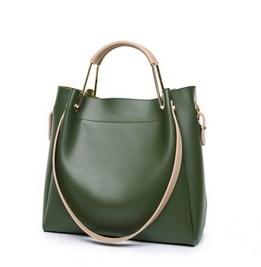 Leather Portable Fashion Shoulder Bag (LDO-01640) pictures & photos