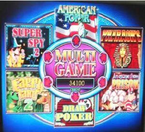 Multi Game PCB 6X, 7X