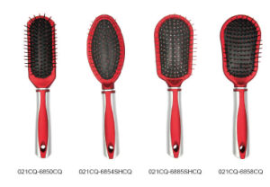 Professional Plastic Cushion Hair Brush pictures & photos