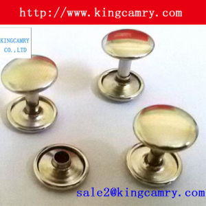 Dome Head Iron Snap Rivet Studs Metal Button Studs pictures & photos