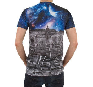 China wholesale new design all over dye sublimation for Wholesale t shirt printing china
